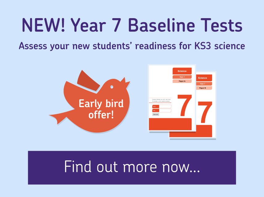 Find out more about new Y7 Baseline Tests